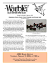 Thumbnail of The Warbler newsletter